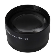52mm Diameter Telephoto Lens no adapter professional Clear 2.0x High Definition Telephoto Lens for Nikon AF-S DX Nikkor 18-55mm