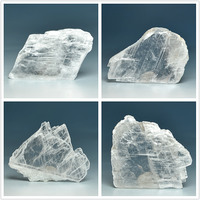 Through Natural Gypsum Crystals Mineral Crystal Stone Mohs Hardness Teaching Specimen Ornamental Specimens