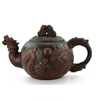 Rarity Collection Value Teapot Yixing Teapots 430ml Dragon Ceramic Chinese Handmade Set Handmade Ceramic Sets Porcelain Kettle