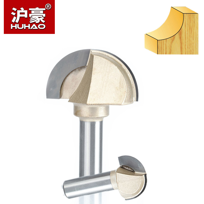 HUHAO 1pc Double Edging Router Bits For Wood Cove Box Bit Tungsten Carbide Woodworking Endmill 1/2