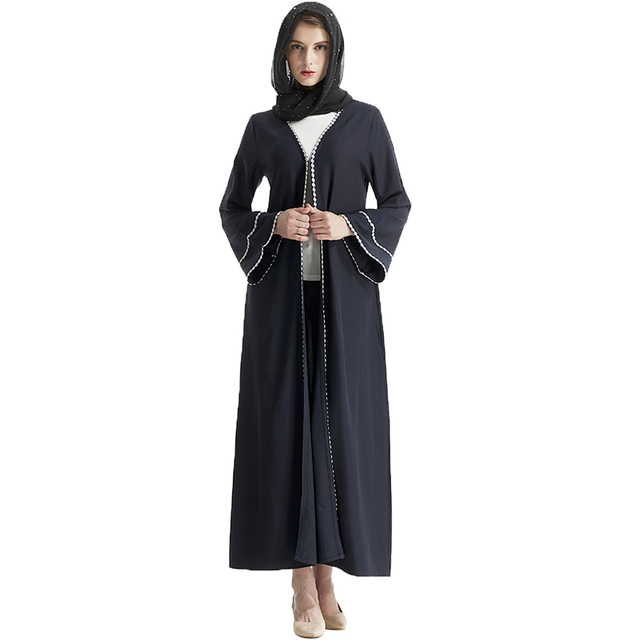 Babalet Elegante Modest Musulmán Ropa Islámica Dubai Formal Encuadre ...