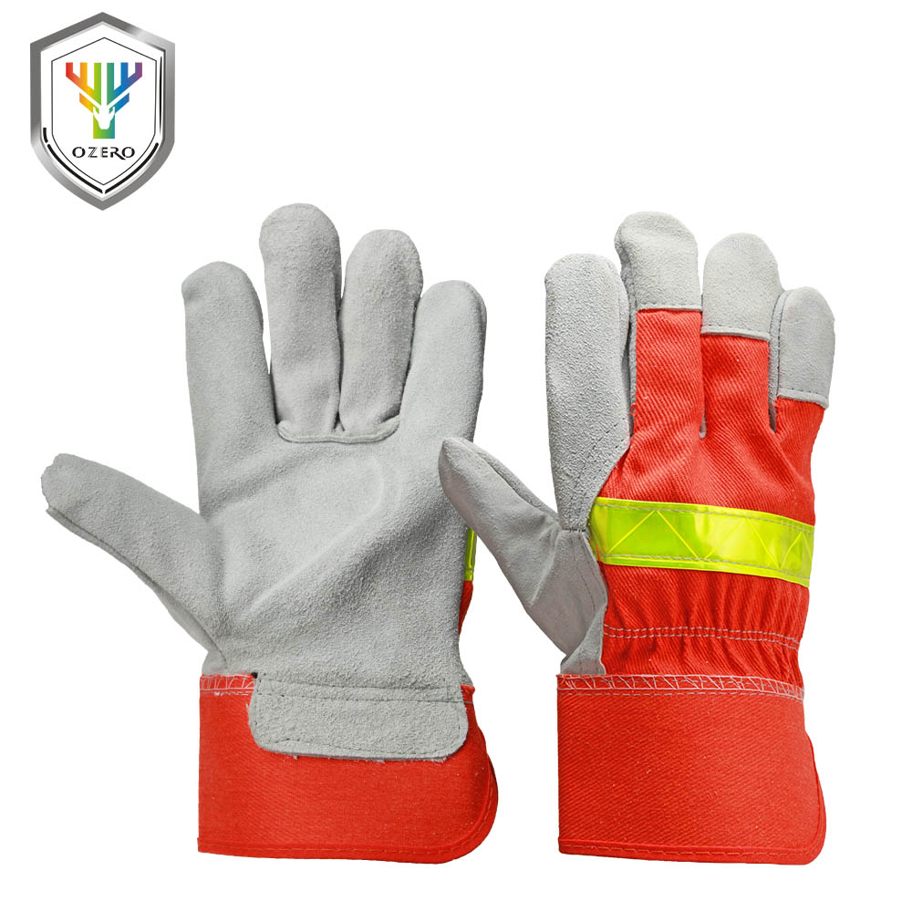 OZERO Fire Protective Gloves Fire Proof Anti-fire Equipment Heat -Resistant Flame-retardant Gloves With Reflective Strap    1109 outdoor research silencer fire resistant gloves