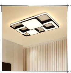 Branco e marrom lâmpada do teto corredor