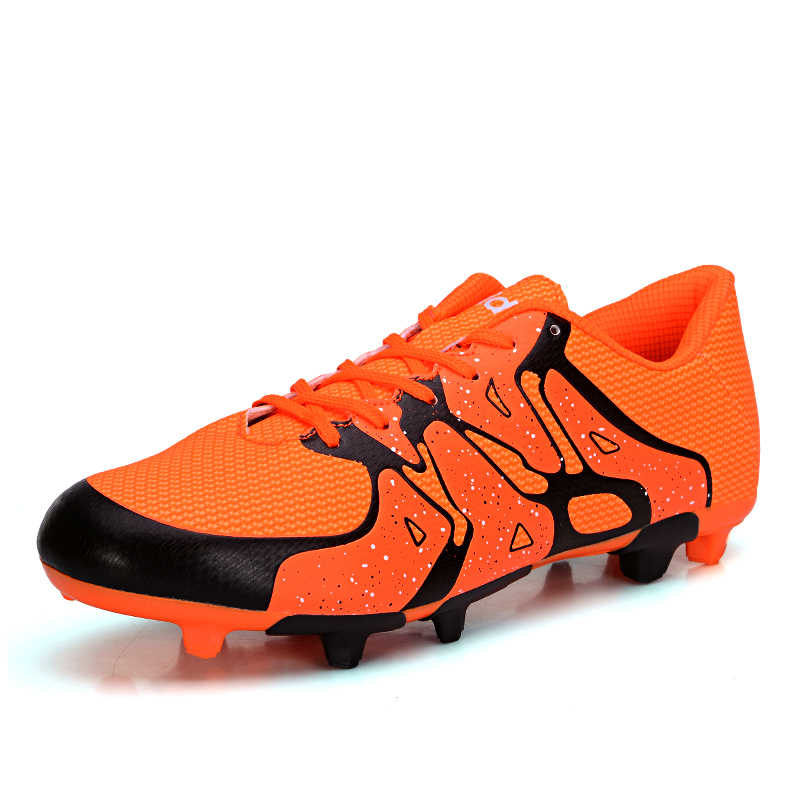 efa2e43a6 Sufei Football Boots FG Professional TF Indoor Soccer Shoes Crampon Futsal Original  Cleats Training Sneakers