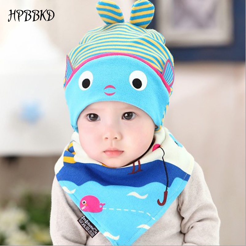 100% True Hpbbkd Newborn Baby Hat Set 2pcs/lot Infant Caps Cotton Baby Beanies Baby Girls Boys Hat Bib Kids Scarf Baby Hat Scarf Set Gh618 Possessing Chinese Flavors Mother & Kids Accessories