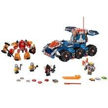 ЛЕПИН Nexo Рыцари Axl Axls Башня Перевозчик Сочетание Marvel Строительные Блоки Комплекты Игрушки Совместимость Legoe Nexus
