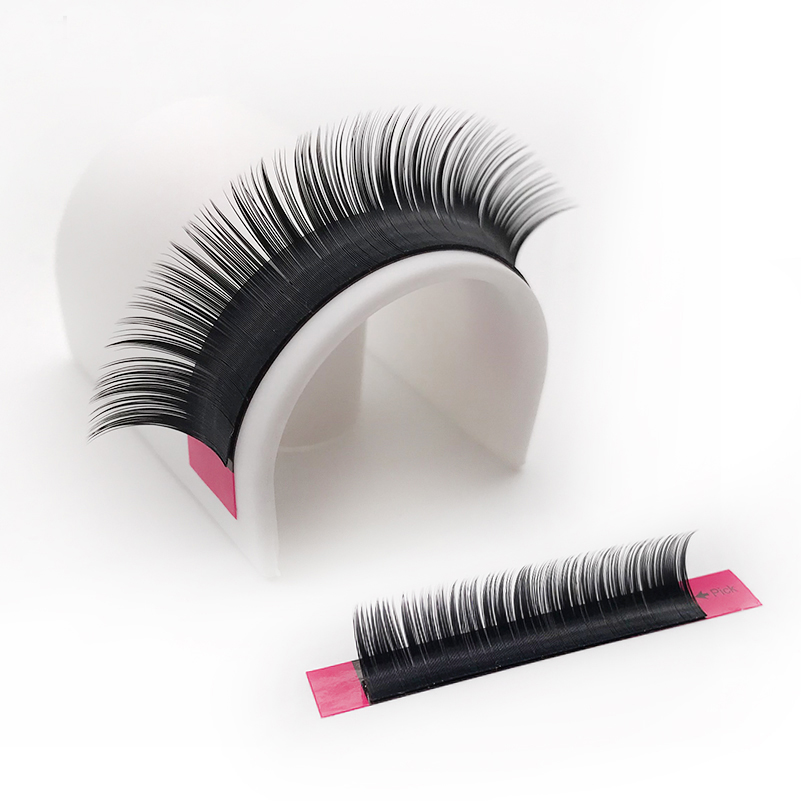 Silke Individual 3D Eyelashes, False False Mink Eye Lashes Extensions - Makeup - Foto 3