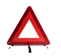 AUTO New Arrival Road Warning Triangle Folding Car Emergency Tripod Reflective Automobile Traffic Warning Stop Sign