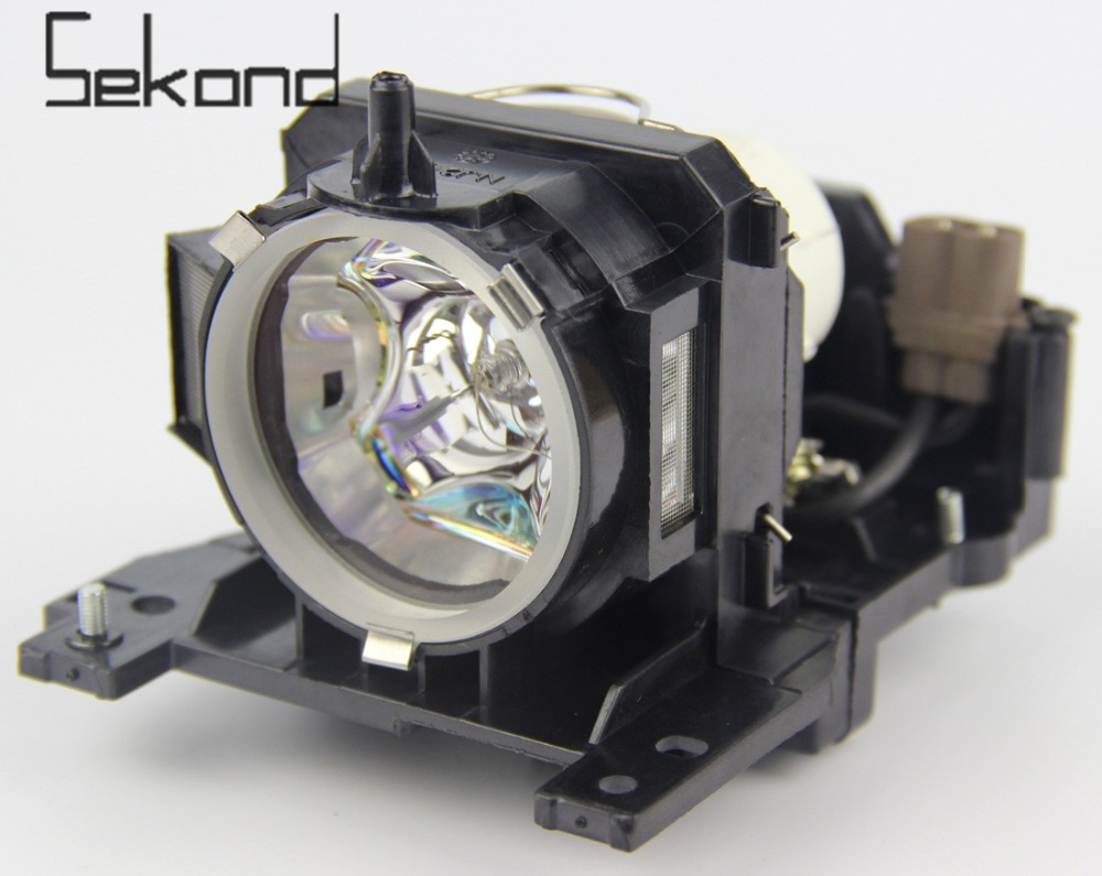 SEKOND Original USHIO bulb DT00911 Projector Lamp with Housing For Hitachi CP-X201 ED-X31  CP-WX410   HCP-960X HCP-90X HCP-900X original projector lamp for hitachi cp hx1098 with housing
