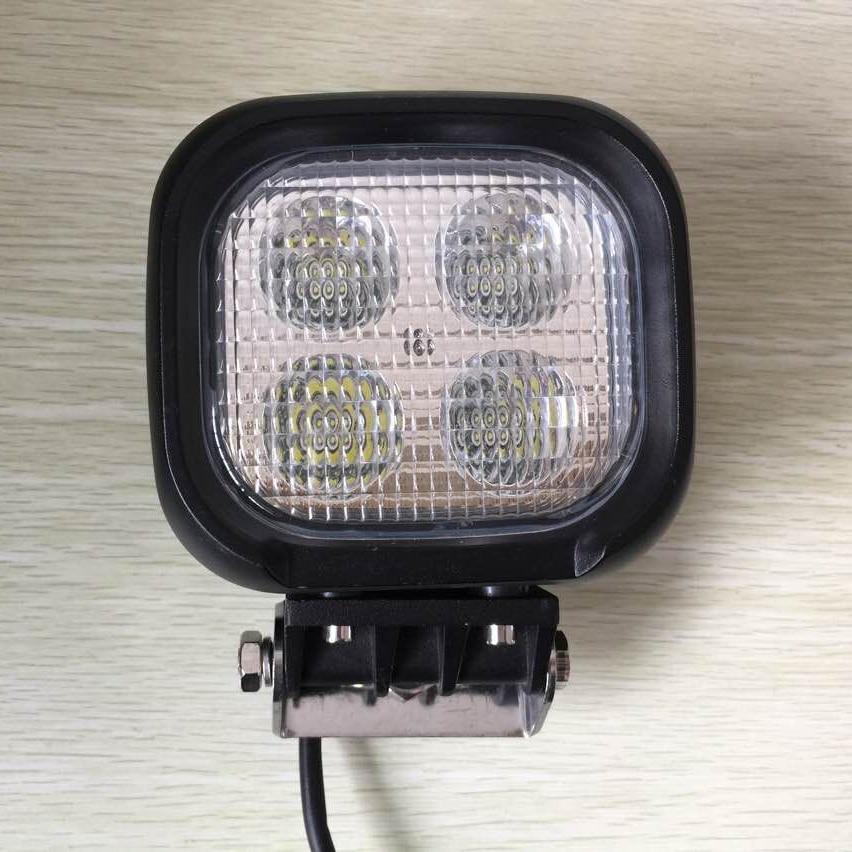 ФОТО 40W LED Headlight Work Flood Light Lamp Off Road Driving light Truck SUV 4X4 ATV 4WD UTE Car IP68 led working light 12V 24V