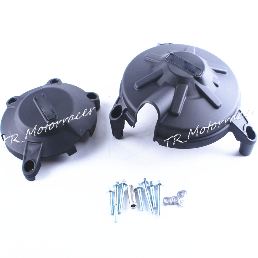 Для Aprilia RSV4 2010 Двигатель статора кривошипно чехол из углеродного волокна + ABS пластик замена Новый черный