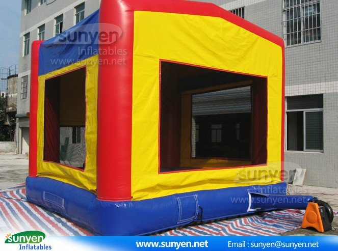 Top quality car inflatable moonwalk for promotion