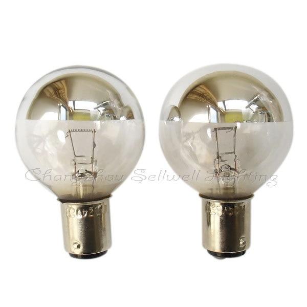 SKVĚLÉ! Bez stínové žárovky 24v 25w ba15d G40 A153 10ks sellwell lighting