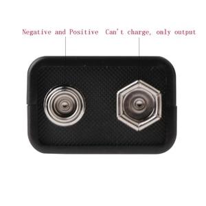 Image 5 - 9V 800mAh Micro USB Aufladbare Lipo Batterie für Multimeter Mikrofon Fernbedienung