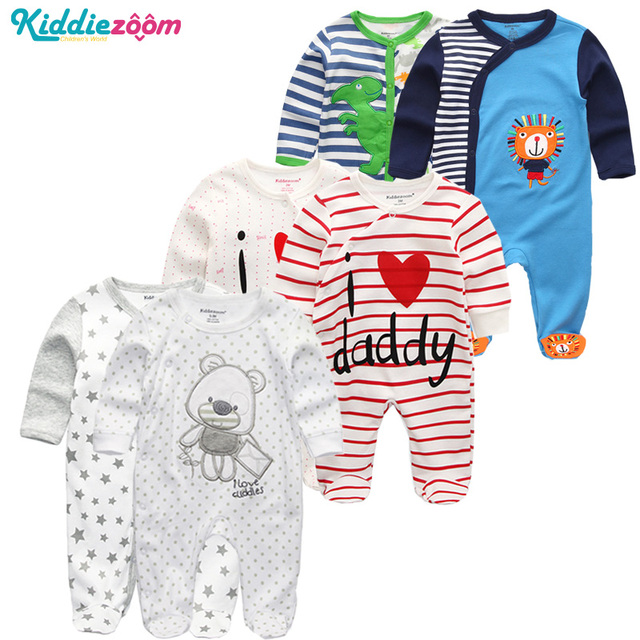 Newborn Romper Clothes Baby Boy Infant Wear use 100%Soft Cotton Romper Overalls Baby Rompers Clothing for New Girl Clothes 0-12M