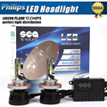 1Set 12000LM 96W P hilips Chips Led Headlight Lamp Hi/Lo Auto 9004 Led Car Headlight Bulbs HB1 HB5 9007 Led Headlight Bulb
