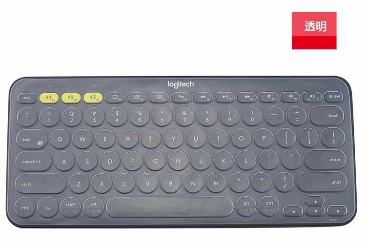 Clear Transparent Silicone Keyboard protector Covers guard For Logitech K380