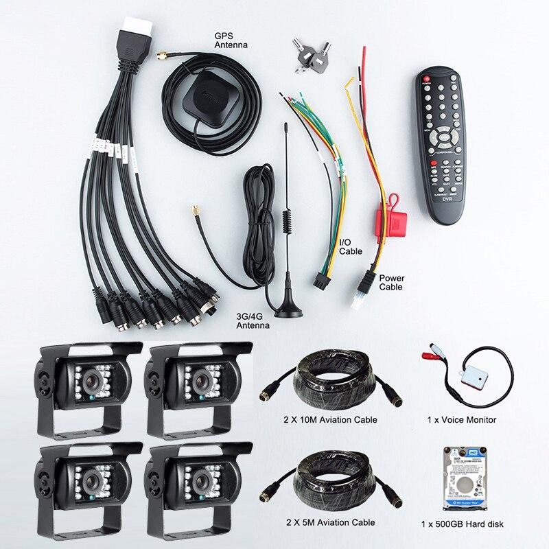 Gision Menu OSD System Linux 3G GPS Car Car Dvr z CMSV6 Bezpłatne - Elektronika Samochodowa - Zdjęcie 4