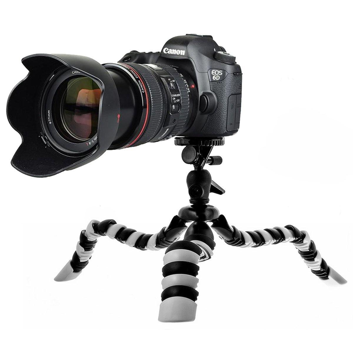 2019 Neuestes Design Flexible Octopus Mobile Mini Stativ Gorillapod Für Iphone Canon Nikon Sony Sport Digit Kamera Tisch Schreibtisch Stativ Mit Clip Extrem Effizient In Der WäRmeerhaltung