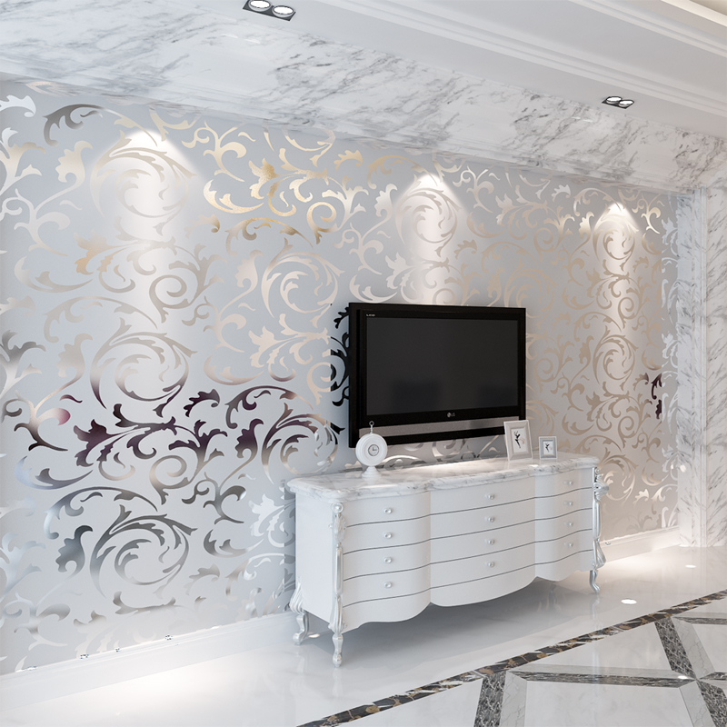 Online buy wholesale wall murals bedrooms from china wall for Best brand of paint for kitchen cabinets with custom gold foil stickers