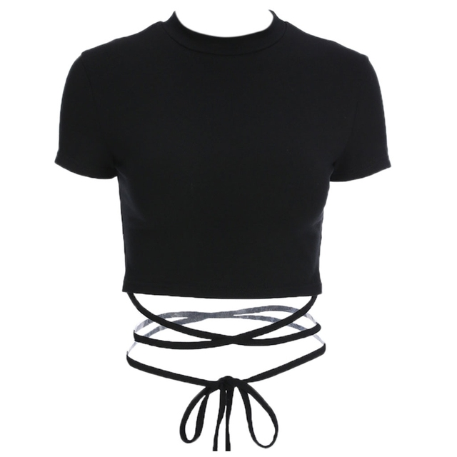 Women'S Crop Top High Neck...