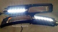 2pcs/set LED Daytime Running Light DRL For Audi A6 C6 2009-2011