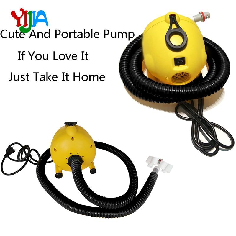 Pompe gonflable-pompe électrique portative de Bravo pour la pompe gonflable de voie d'air, tiennent le conseil de palette, Kayak, boule/rouleau d'eau