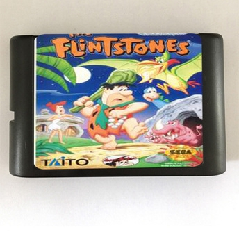 Top quality 16 bit Sega MD game Cartridge for Megadrive Genesis system — The Flintstones