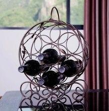 Bronze Wine Rack
