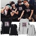 Bts Bangtan Boys Women Suga JIMIN V Long Sleeve Hoodie K-Pop Bts Kpop Hoodie Sweatshirt Big Bang Kpop bts poster