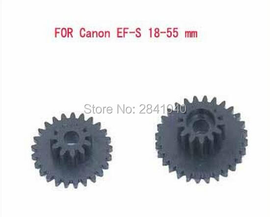 Lens Wheel Gear Repair Part FOR Canon EF-S 18-55 gear mm 1:3.5-5.6 IS II LEN gear 2pcs gap gear for canon ir5000 ir6000 ir5020 ir6020 copier spart part