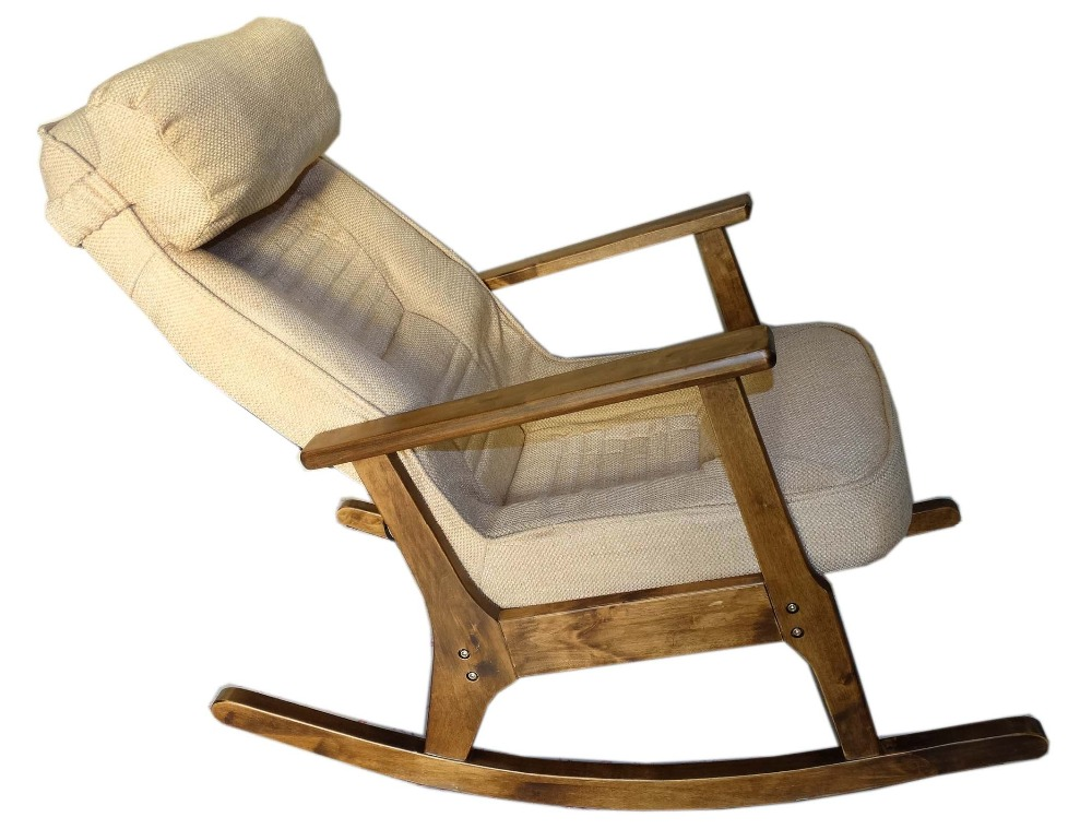 Wooden Rocking Chair For Elderly People Japanese Style Chair Rocking  Recliner Easy Chair Adult Armrest Rocking Chair Cushions In Garden Chairs  From ...