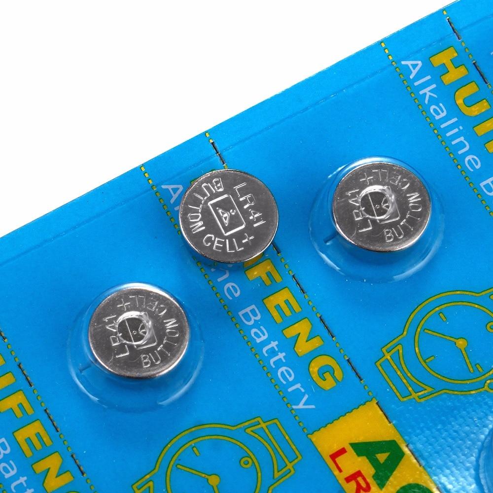 Botão Baterias Celulares 192 botão celular coin bateria Modelo Número : Ag3/lr41