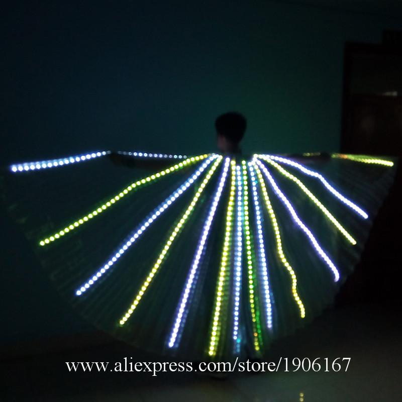 b28559fc US $359.0 |Nowy Projekt Miga Luminous Uprawy Doprowadziły Światła Kolorowy  Kostium Płaszcz Party Taniec Nosić Dla Club Party Bar Halloween w Nowy ...