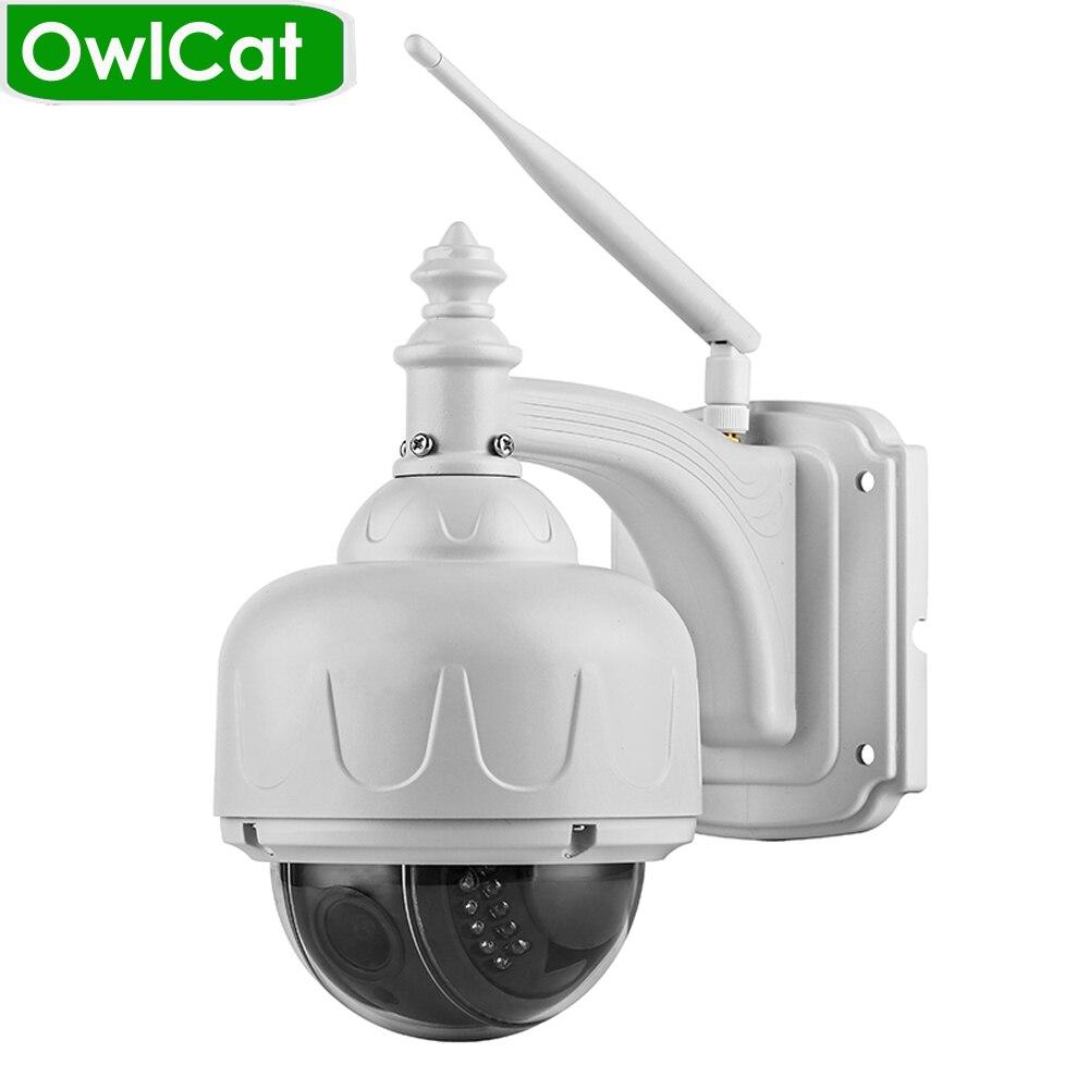 OwlCat Wireless Speed PTZ Dome IP Camera Wifi Outdoor HD 1080P 2.7-13.5mm Auto Focus 5X Zoom SD Card ONVIF Security CCTV CameraOwlCat Wireless Speed PTZ Dome IP Camera Wifi Outdoor HD 1080P 2.7-13.5mm Auto Focus 5X Zoom SD Card ONVIF Security CCTV Camera