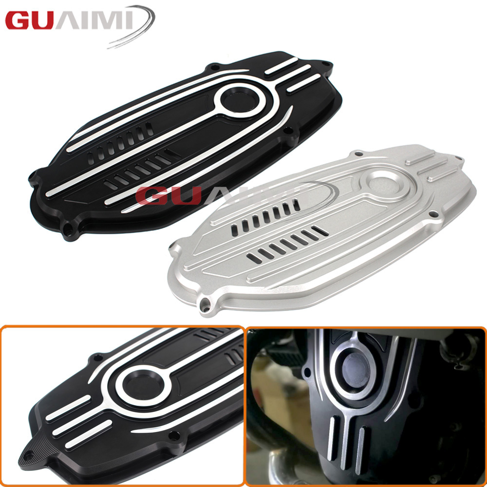 New Motorcycle Front Engine Case Cover Breast Plate For BMW R Nine T R 9t 2014 2015 2016 2017 for bmw r nine t techometer speedometer ring cover r 9t
