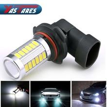 цена на Car 9006 HB4 5630 33 SMD LED Fog Lamp Light Bulb Turning Parking Fog Braking Bulb White DC 12V External Lights