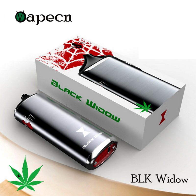 100% Original Black Widow Kingtons vaporizer dry herb mod box kit 2200mah herbal vape pen e cig cigarette black widow mighty v3 herbal vaporizer e cigarette portable powerful temperature adjustable dry herb v3 mighty atomizer wax vape box mod cig