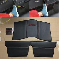 Lapetus Armrest Box + Rear Seat Anti Kick Pad Mat Molding Garnish Cover Protection Kit Fit For Nissan Qashqai J11 2014 2018