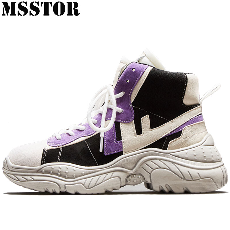 MSSTOR Plus Size 35-42 Women Running Shoes Spring Autumn Winter Sneakers For Woman Brand Athletic Walking Ladies Sport Shoes недорого