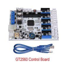 3D Printer Control Board GT2560 Support A4988 Driver Dual Extruder Power Than ATmega2560 Ultimaker 3 3D0233