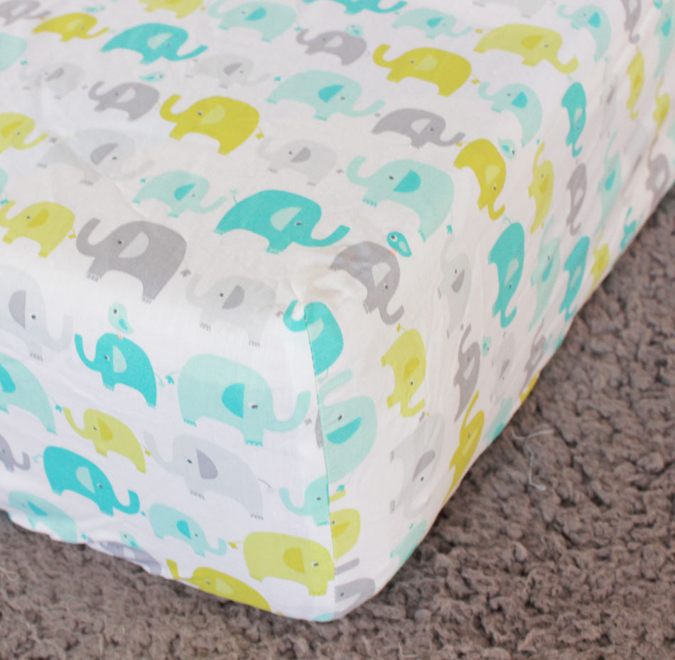 Elephant Baby Boy Crib Bedding Part - 19: Ligth Green Elephants Baby Boy 5pc Crib Bedding set Embroidered Applique  Quilt Bumpers Fitted Sheet Blanket, Kit bebe-in Bedding Sets from Mother u0026  Kids on ...