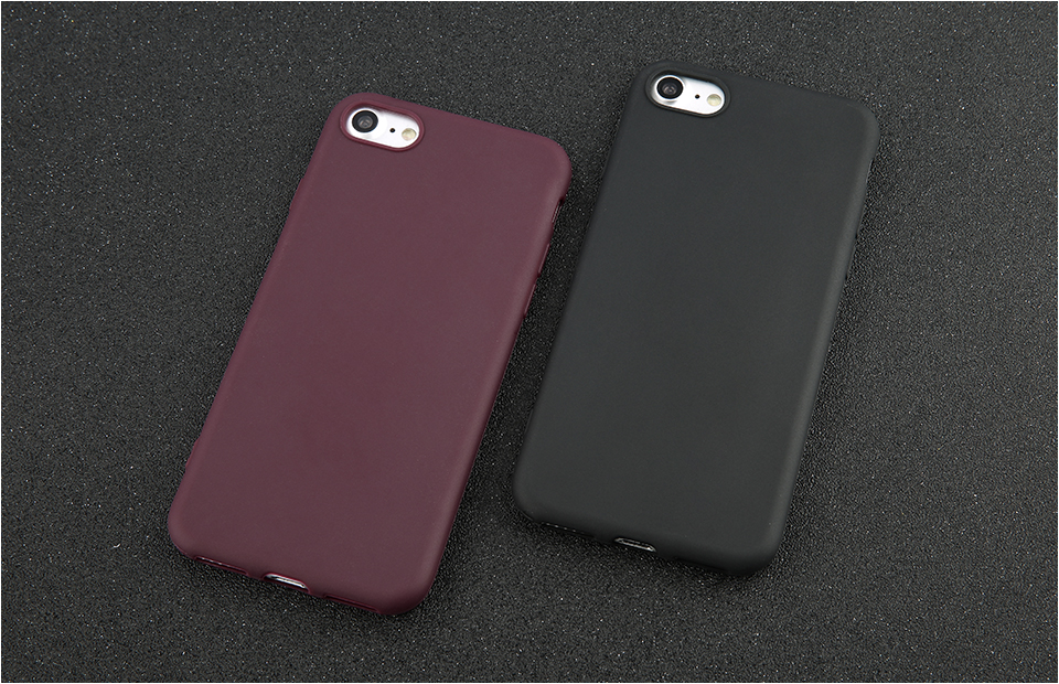 Candy Color Back Cover Case For iPhone 9