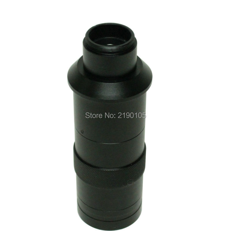 ФОТО Free Shipping 16X-220X zoom C-mount Lens microscope camera eyepiece lens industry magnifying glass