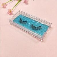 Cruelty free natural false eyelashes fake lashes 3D mink false lashes extension eyelash mink eyelashes for beauty make up salon