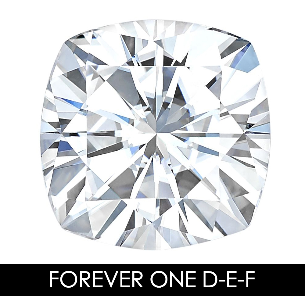6.5mm 1.30 CARAT 82 Facets Cushion Moissanites Loose Gemstone D-E-F Color Charles & Colvard USA Created Moissanites REAL6.5mm 1.30 CARAT 82 Facets Cushion Moissanites Loose Gemstone D-E-F Color Charles & Colvard USA Created Moissanites REAL