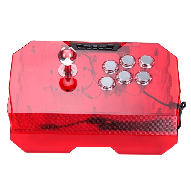QANBA N1 Joystick the acrylic panel USB cable street fighter Android smart phone, tablet PC or network set-top box free shipping