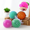 Outdoor Fun & Sports Toy Balls Squishy Mesh stress ball Fidget Stress Toys Finger antistress smash it rubber Ball Random Color