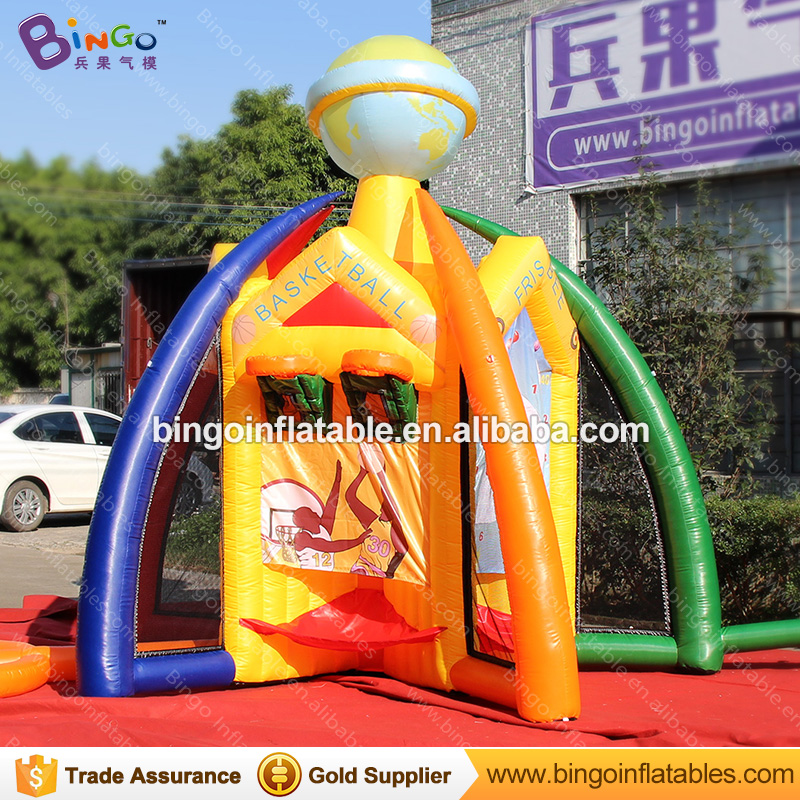 Free express 5 In 1 inflatable basketball soccer sport games For kids multi-use sport court outdoor toys for Childrens DayFree express 5 In 1 inflatable basketball soccer sport games For kids multi-use sport court outdoor toys for Childrens Day