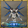 DABAN 1/100 MG Gundam MB.Ver Detail Strike Freedom Fighter Robot Model Kit